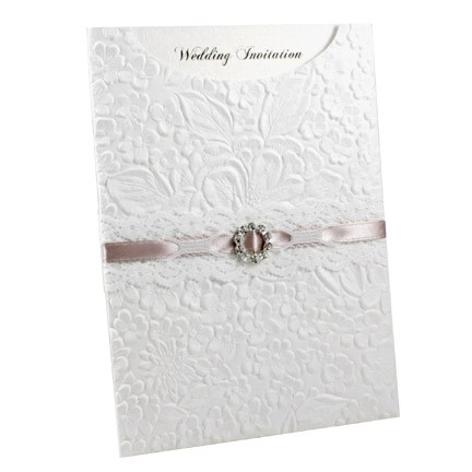 Paperglitz Wholesaler and Manufacturer of C6 Pockets Precut – Embossed Invitation Cards