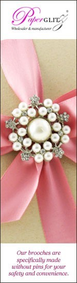 Wholesale High Quality Diamante Brooches - Paperglitz Australia