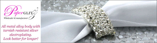 Wholesale High Quality Diamante Buckles for Wedding Invitations. Paperglitz Australia