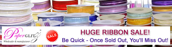 Huge Ribbon Sale Now On!
