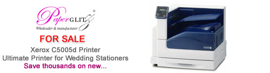 Ultimate Printer for Wedding Stationers - save thousands against buying new.