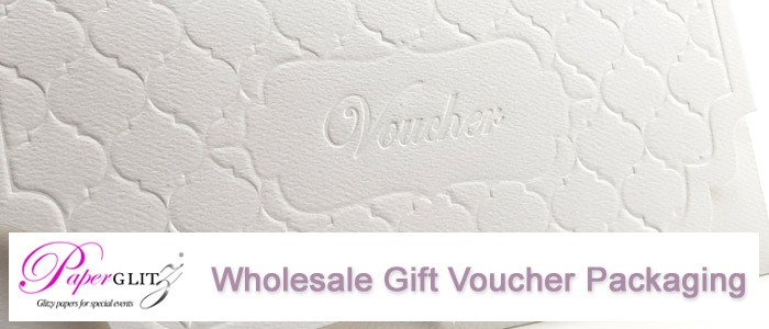 Manufacturer & wholesale designer gift voucher packaging solutions