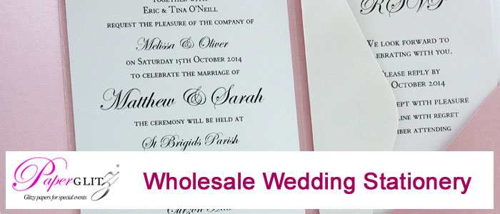 Wholesale Suppliers to the Wedding Invitations & Stationery Industry