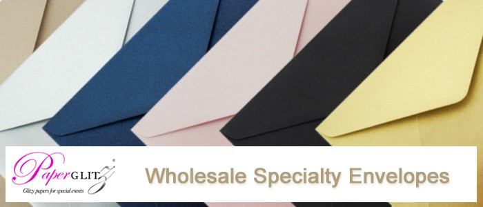 Wholesale Suppliers of Specialty Envelopes for Weddings, Marketing, Special Events etc