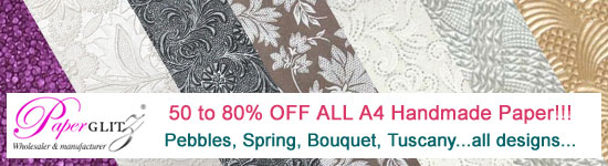 Massive Sale - 50 to 80% Off ALL A4 Handmade Papers - Be Quick!!!