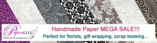 100's of papers slashed - handmade paper MEGA SALE NOW ON!!!