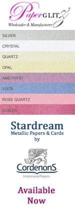 Stardream Papers & Cards now available at Paperglitz