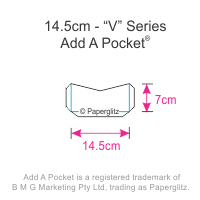 Add A Pockets V Series - 14.5cm