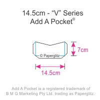 Add A Pockets V Series - 14.5cm