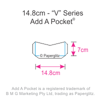 Add A Pockets V Series - 14.8cm