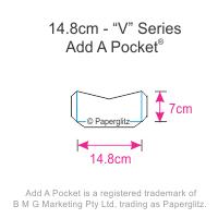 Add A Pockets V Series - 14.8cm