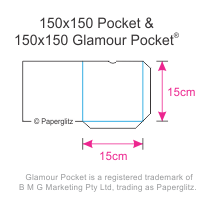 150mm Square Pockets