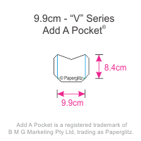 Add A Pockets V Series - 9.9cm