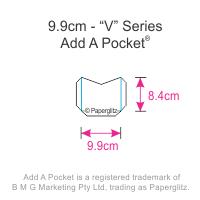 Add A Pockets V Series - 9.9cm