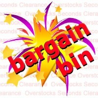 SAVE BIG on products in our Bargain Bin. Hurry - strictly limited stocks