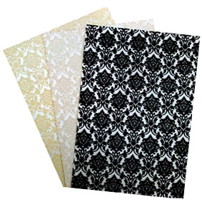 Mega sale on Glitter Print embossed papers - A4 and 56x76cm