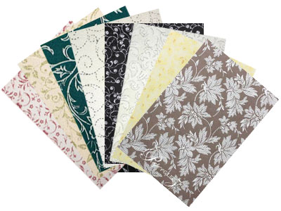 Handmade Chiffon Papers - A4 Sheets