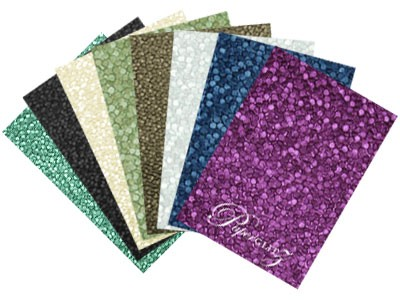 Handmade Embossed Papers - A4 Sheets