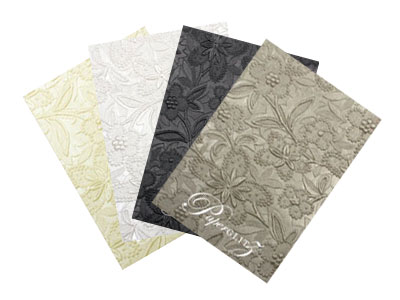 Mega sale on handmade embossed papers - A4 and 56x76cm
