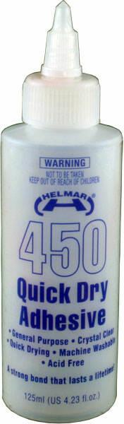 Helmar 450 Quick Dry Adhesive Glue - 125ml
