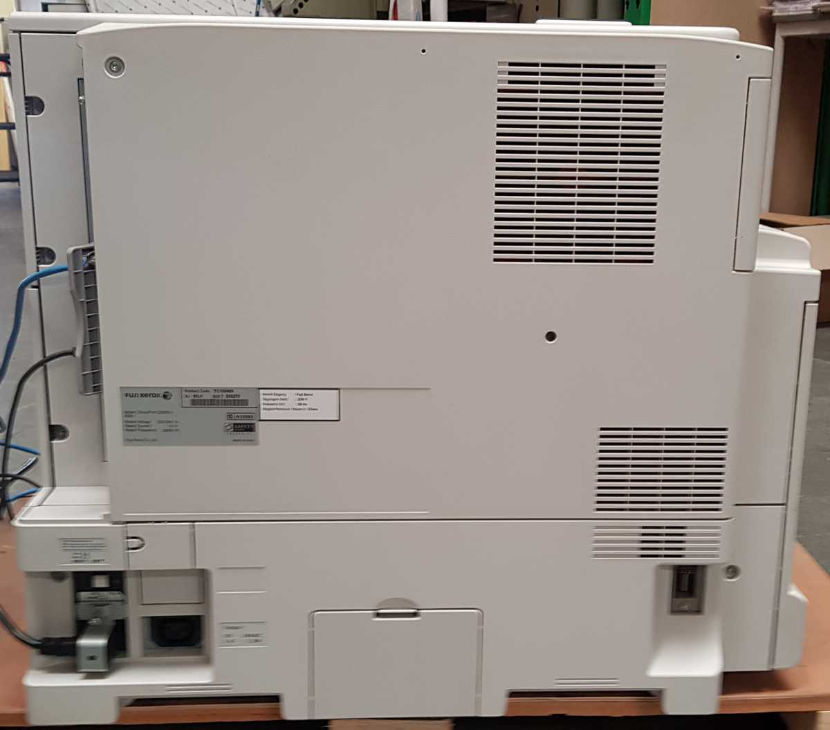 Xerox C5005d - back view