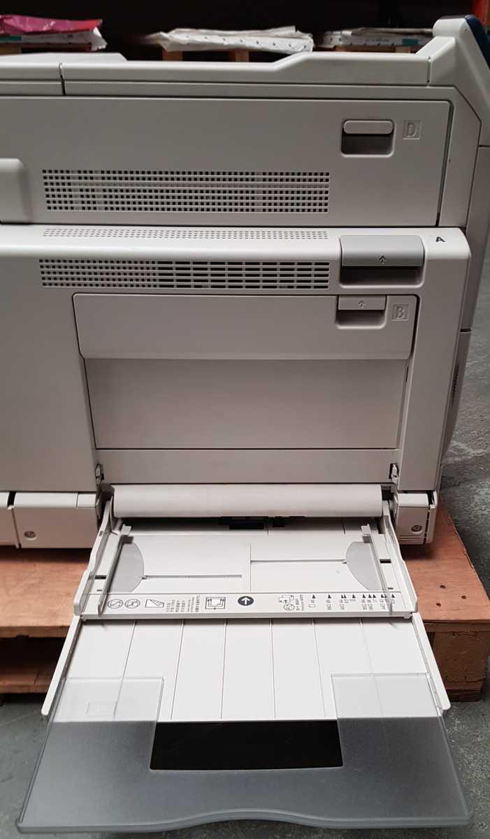 Xerox C5005d - Bypass Tray Open
