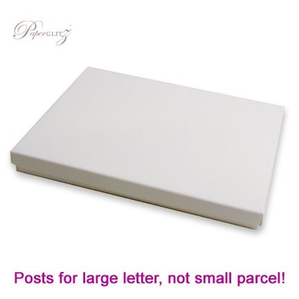 5x7 Inch Invitation Box - Semi Gloss White