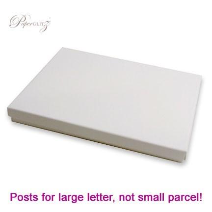 5x7 Inch Invitation Box - Semi Gloss White