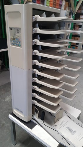 Paper Collator - UCHIDA UC-1100 / SUPERFAX EC-4600