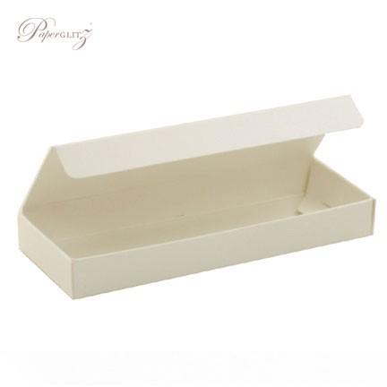 3 Chocolate Box - Crystal Perle Metallic Arctic White