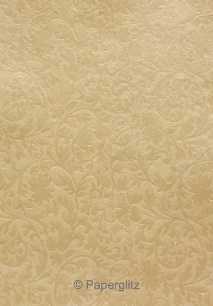 Glamour Add A Pocket 14.25cm - Embossed Botanica Mink Pearl