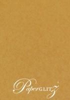 13.85x20cm Flat Card - Buffalo Kraft Board 283gsm
