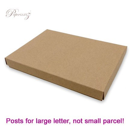 C6 Invitation Box - Buffalo Kraft Board 283gsm