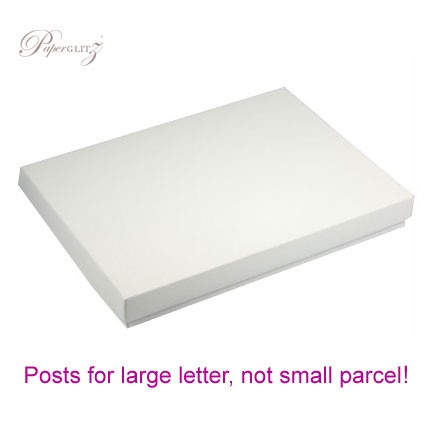C6 Invitation Box - Semi Gloss White