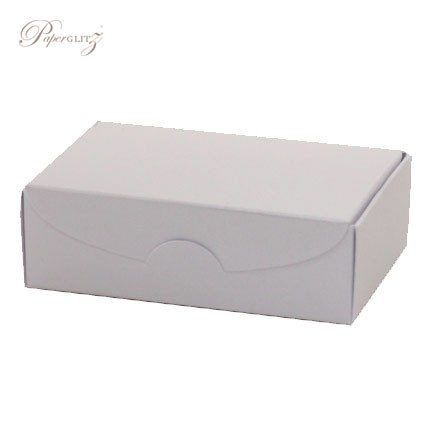 Cake Box - Crystal Perle Metallic Diamond White