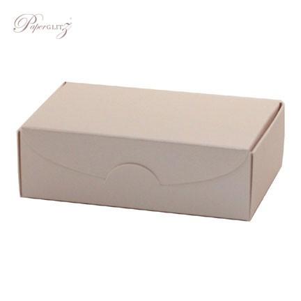 Cake Box - Crystal Perle Metallic Sandstone