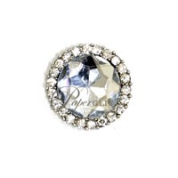 Diamante Cluster - Circle Clear - 10 Pack