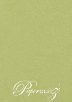 Petite Scored Folding Card 80x135mm - Cottonesse Country Green 250gsm