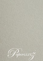 13.85x20cm Flat Card - Cottonesse Warm Grey 360gsm