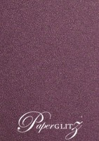120x175mm Scored Folding Card - Curious Metallics Violet
