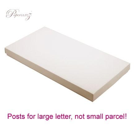 DL Invitation Box - Crystal Perle Metallic Sandstone