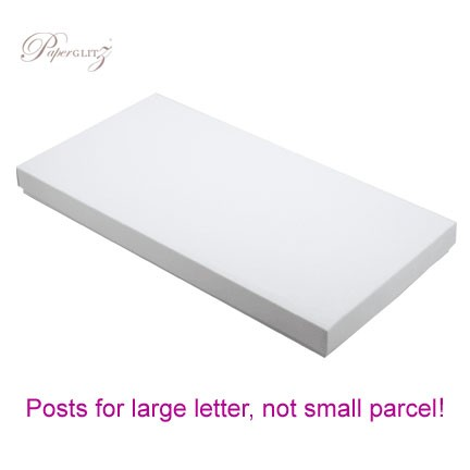 DL Invitation Box - Semi Gloss White