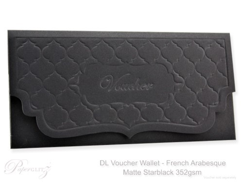 DL Voucher Wallet - French Arabesque Starblack