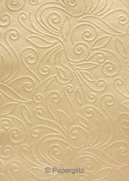 Glamour Add A Pocket V Series 9.9cm - Embossed Elyse Mink Pearl
