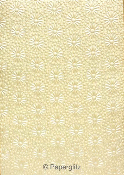 Glamour Pocket DL - Embossed Eternity Ivory Pearl