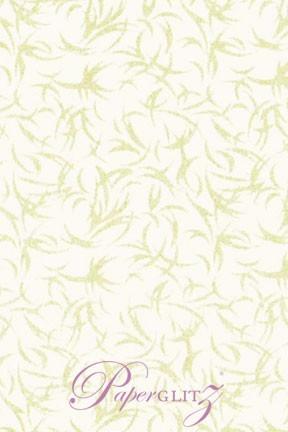 Handmade Chiffon Paper - Galaxy White & Pearl Glitter Full Sheets (56x76cm)