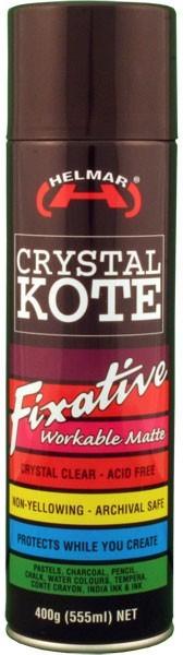 Helmar Crystal Kote Fixative Spray - 400g