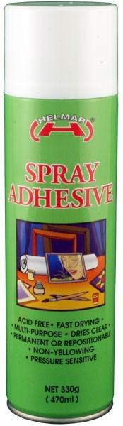 Helmar Spray Adhesive - 330g
