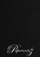 Keaykolour Original Jet Black 120gsm Paper - DL Sheets