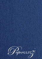 Petite Scored Folding Card 80x135mm - Keaykolour Original Royal Blue